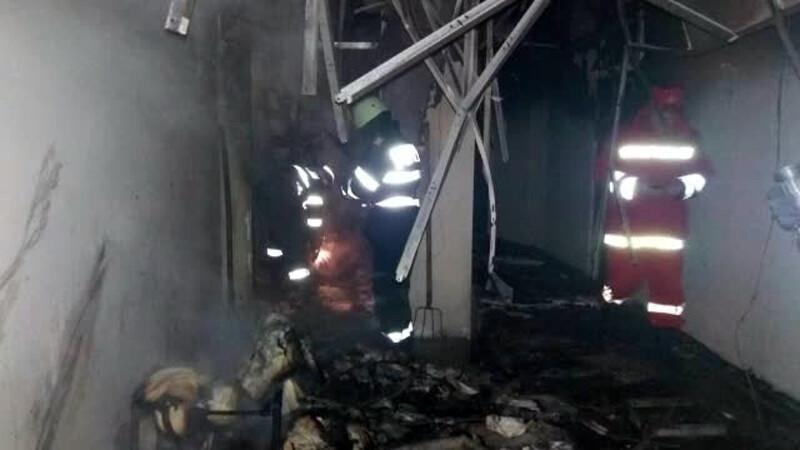 Incendiu la un hotel din Eforie Nord. Turistii au iesit in balcoane, asteptand sa fie salvati de pompieri