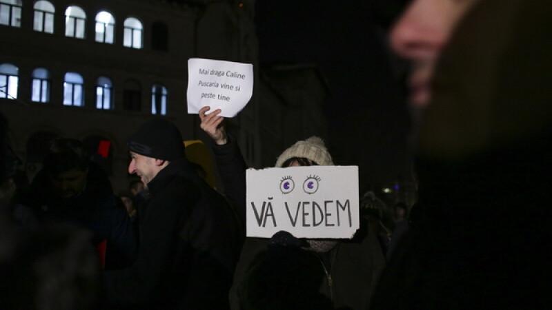 Noi proteste fata de legea privind amnistia si gratierea, anuntate pentru duminica. Actiuni in Bucuresti si in alte orase