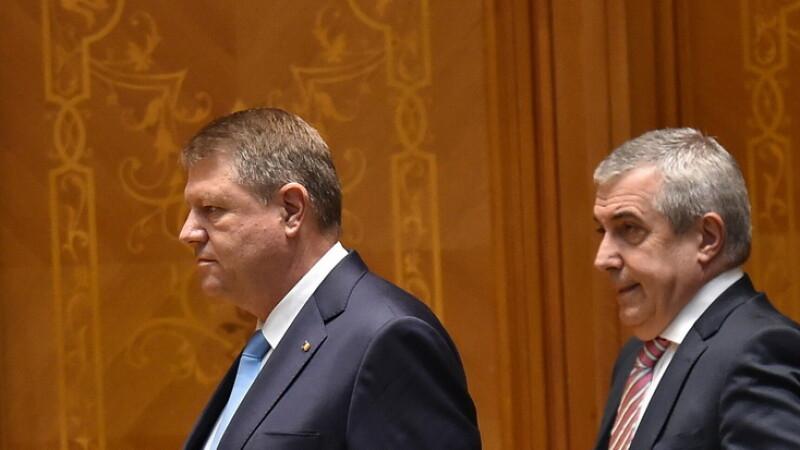 Klaus Iohannis, Calin Popescu Tariceanu - Agerpres