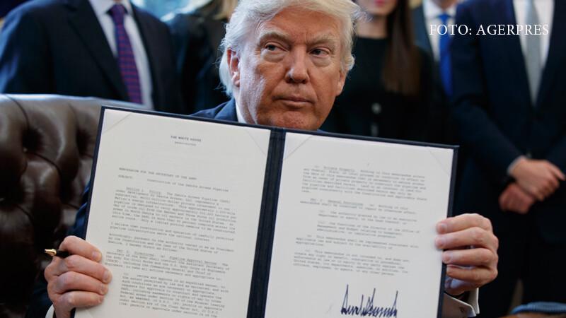Cum a decurs prima zi din mandatul lui Donald Trump. Proiectul zidului de la granita cu Mexicul, demarat oficial