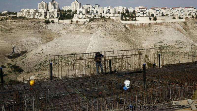 Israelul va construi 2500 de locuinte coloniale in Cisiordania. \