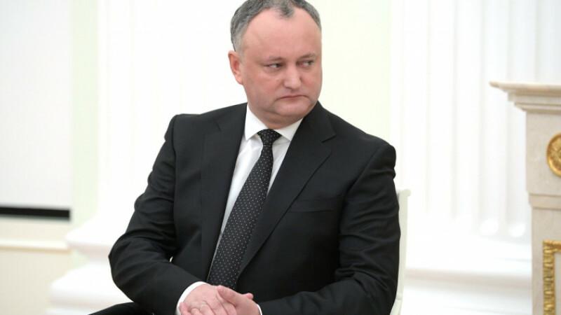 Igor Dodon vrea referendum in R. Moldova pentru a putea dizolva Parlamentul. Mesajul pe care i l-a transmis lui Iohannis