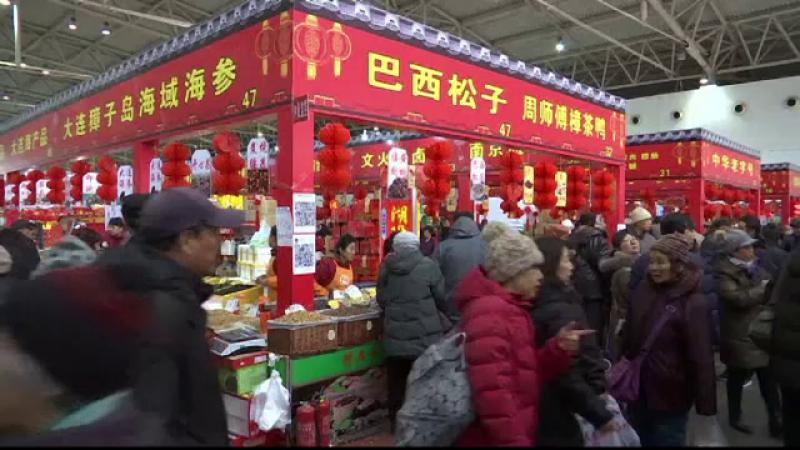 Pregatiri pentru intrarea in Anul Cocosului de Foc, in China: