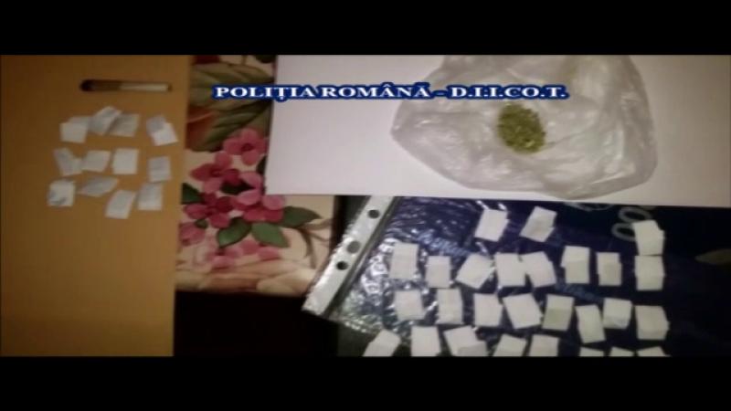 Zece suspecti si 60 de martori, in fata procurorilor intr-un dosar care vizeaza o retea de traficanti de droguri
