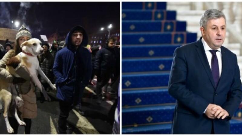 Ministrul Justitiei nu renunta la varianta ordonantei de urgenta in cazul gratierii. Noi proteste in Romania, duminica