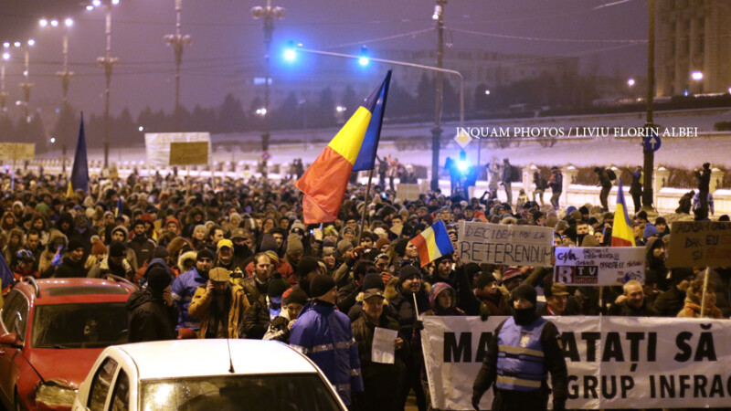 Klaus Iohannis reactioneaza dupa protestele masive de duminica: