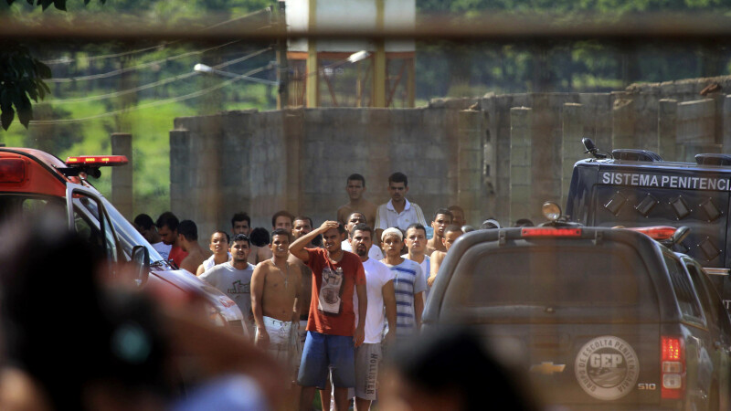 revolta inchisoare brazilia