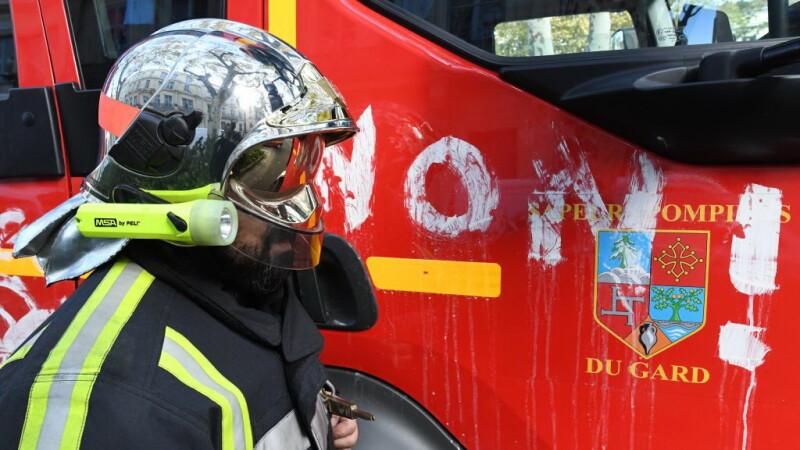 pompier Franța