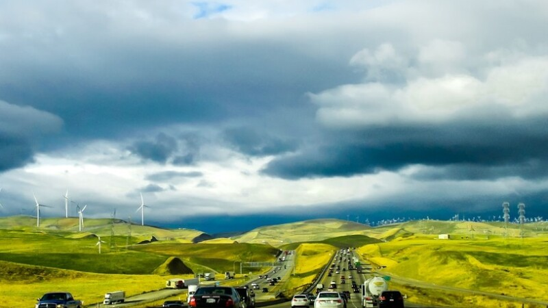 Autostrada, masini