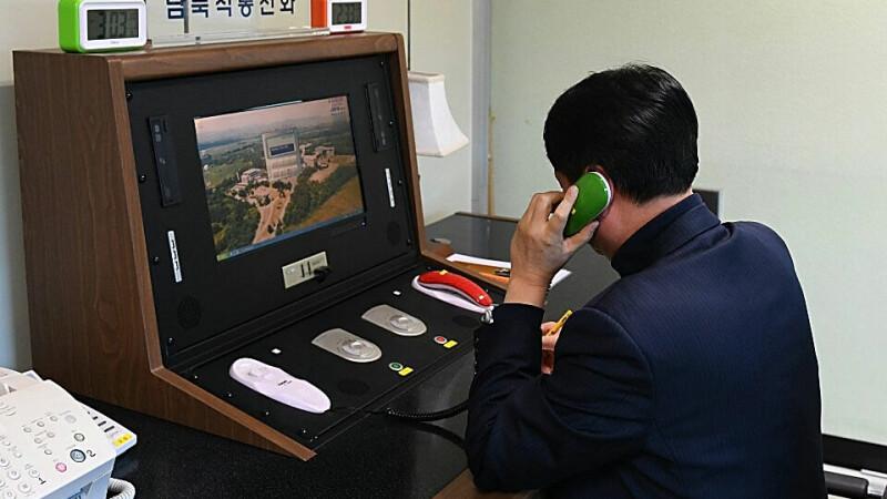 Linie rosie intre Coreea de Nord si Sud