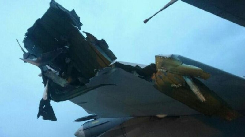 """Primele imagini cu """"avioanele rusești distruse în atacul asupra bazei din Latakia, Siria"""""""