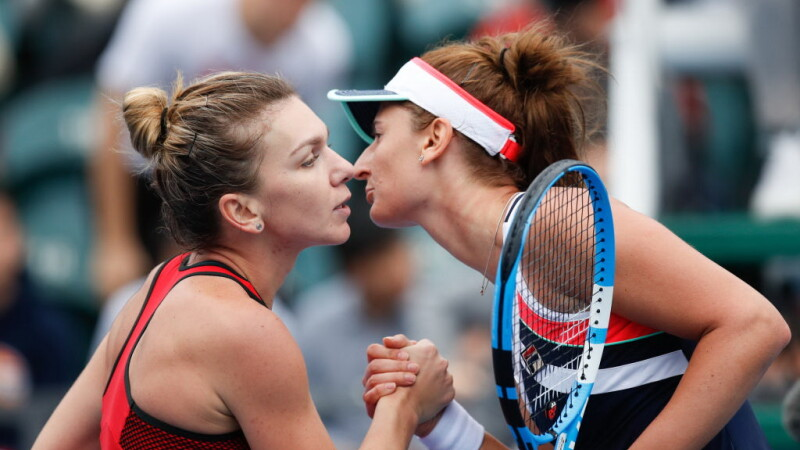 Simona Halep și Irina Begu au câștigat finala la dublu de la Shenzhen