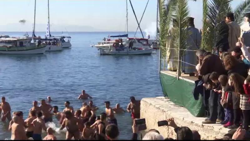 Ceremonii speciale de Bobotează în Grecia și Turcia. Cadoul oferit de Patriarhul Bartolomeu