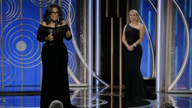 """Oprah Winfrey, Globul de Aur pentru întreaga activitate. Discurs împotriva prădătorilor sexuali: """"Timpul lor a trecut"""""""
