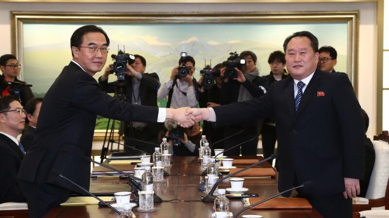 Coreea de Nord şi Coreea de Sud, întâlnire la nivel înalt