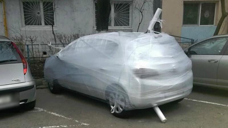 Mașină înfoliată