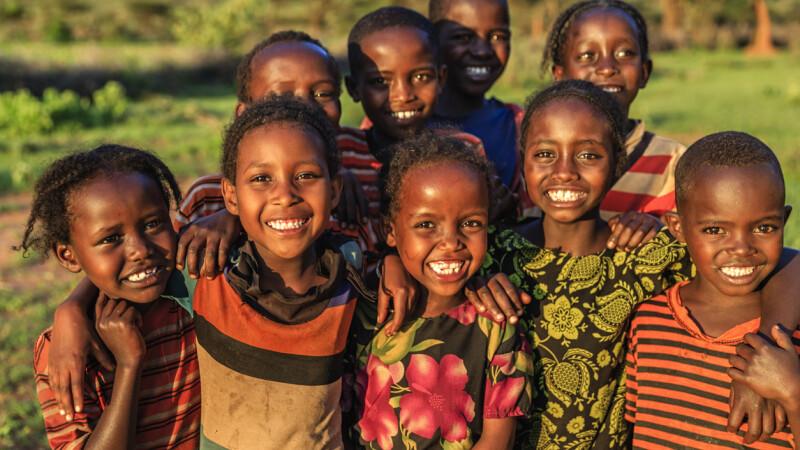 Copii din Etiopia