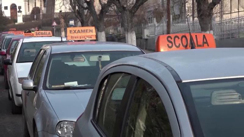 Protest în orașul care a desființat proba practică de la examenul auto