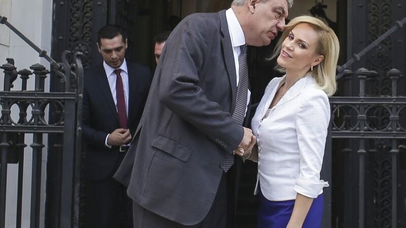 Gabriela Firea intervine în conflictul din PSD, sugerând că şi demisia premierului e o soluţie
