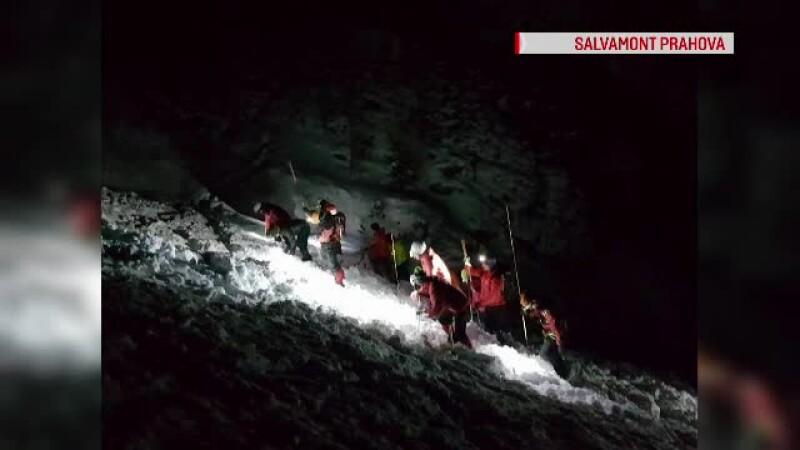 Șanse minime pentru tânărul surprins de avalanșă în Bucegi. Salvatorii i-au găsit rucsacul