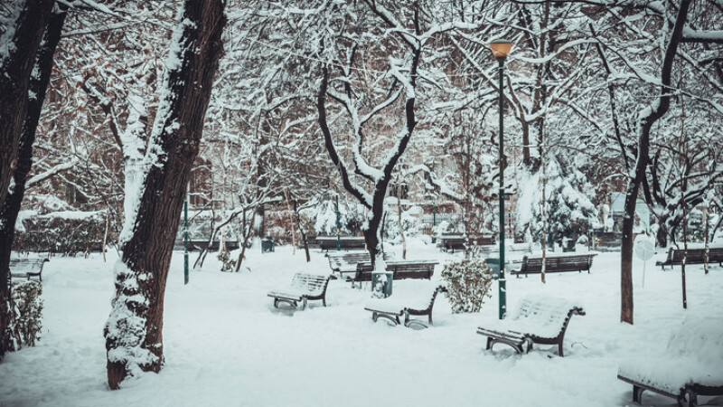 România, cuprinsă de ger. Temperaturi de -20 de grade