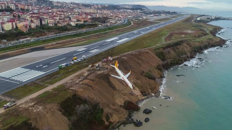 Un avion cu 168 de pasageri, la un pas să ajungă în Marea Neagră. Anchetă în Turcia