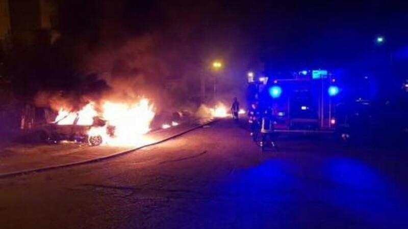 masina incendiata Bisignano