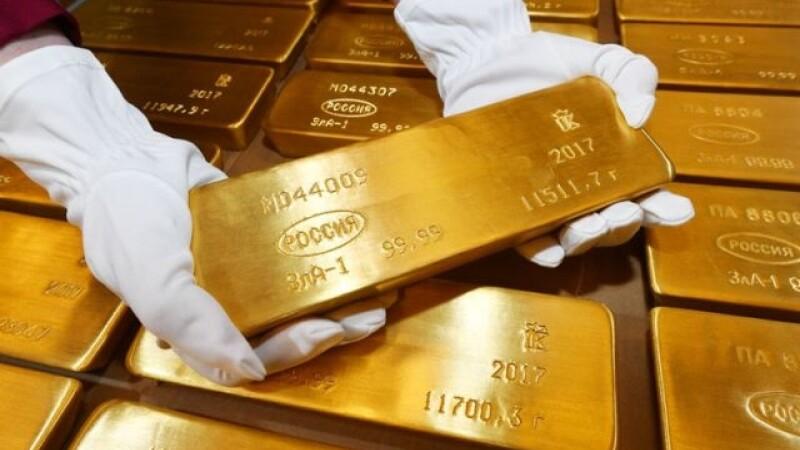 Imagini unice cu rezerva de aur a Rusiei. Cum este depozitat și păzit aurul rușilor