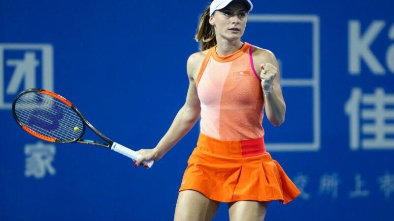 Ana Bogdan - Kristina Mladenovic cu 6-3, 6-2, la Australian Open 2018. Victorie cu numărul 11 WTA