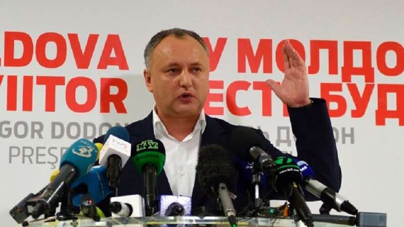 Igor Dodon: Organizarea festivalurilor minorităţilor sexuale ar trebui scoase în afara legii