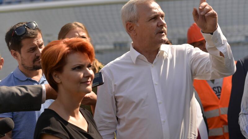 Lia Olguta Vasilescu si Liviu Dragnea