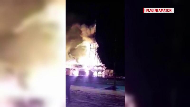 biserică arsă Suceava