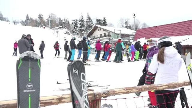 turisti la schi