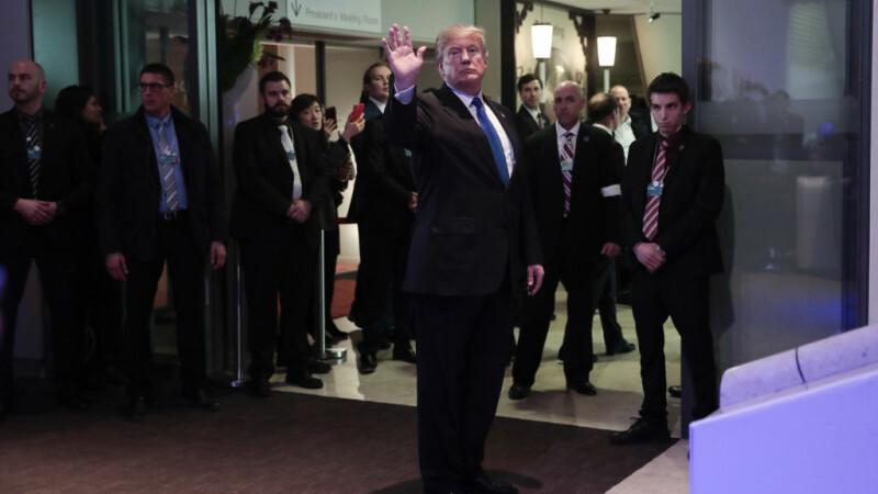 Donald Trump la Davos