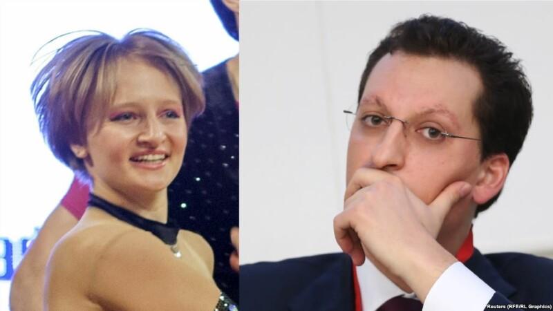 Kirill Shamalov, Vladimir Putin, Katerina Tikhonova,