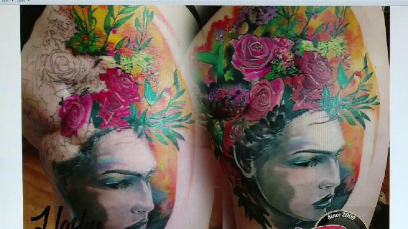 tatuaje posttraumatice