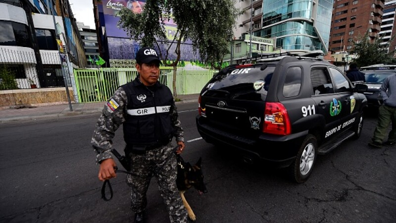 Poliție Ecuador