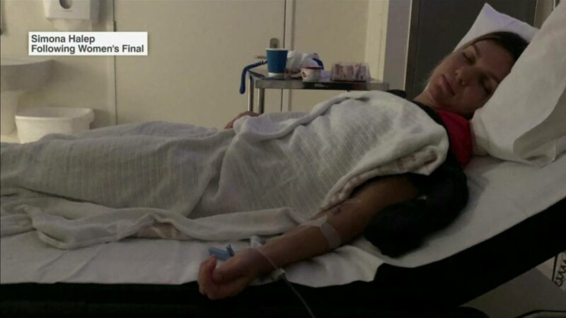 Simona Halep, în spital