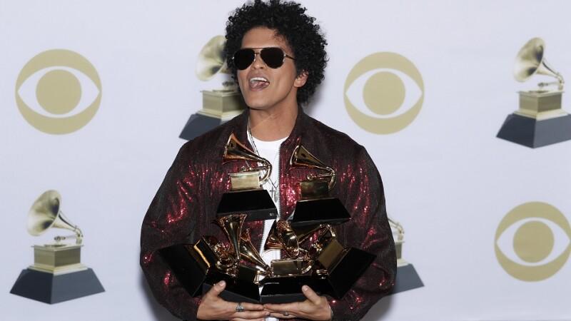 Bruno Mars la premiile Grammy