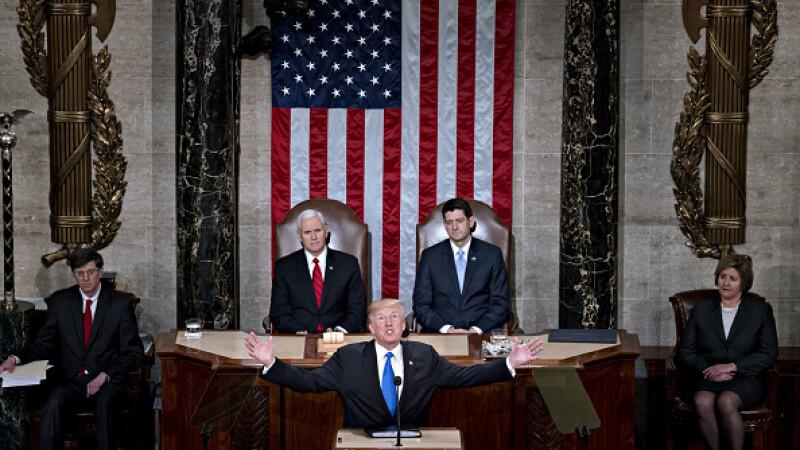 """Donald Trump, discursul despre """"Starea Națiunii"""""""