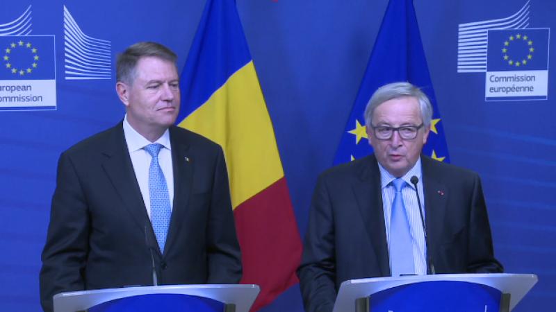 Klaus Iohannis, Jean-Claude Juncker