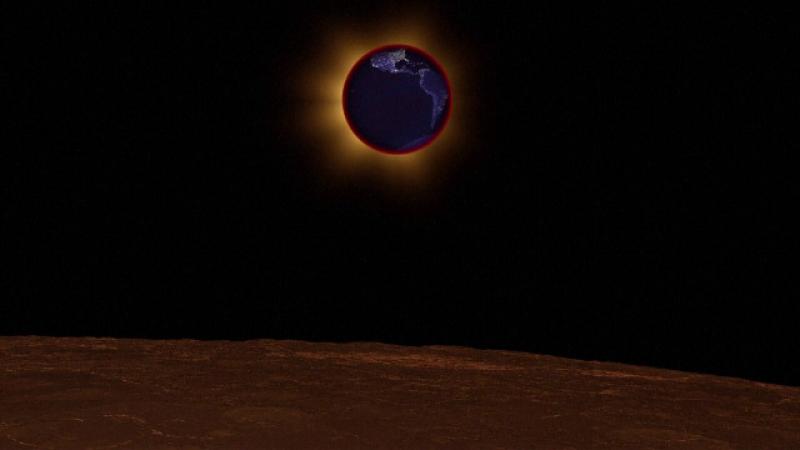 eclipsă totală de lună