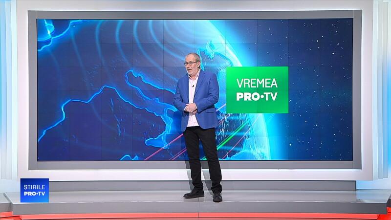 Busu a prezentat vremea pentru prima dată în platoul Știrilor ProTV după infarct