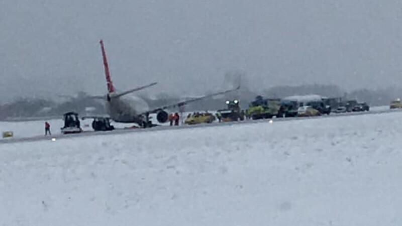 avion iesit de pe pista