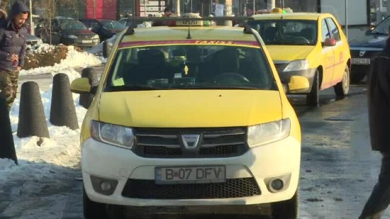 Cum au scăpat 2 taximetriști de orice probleme, după ce au văzut agenții venind spre ei