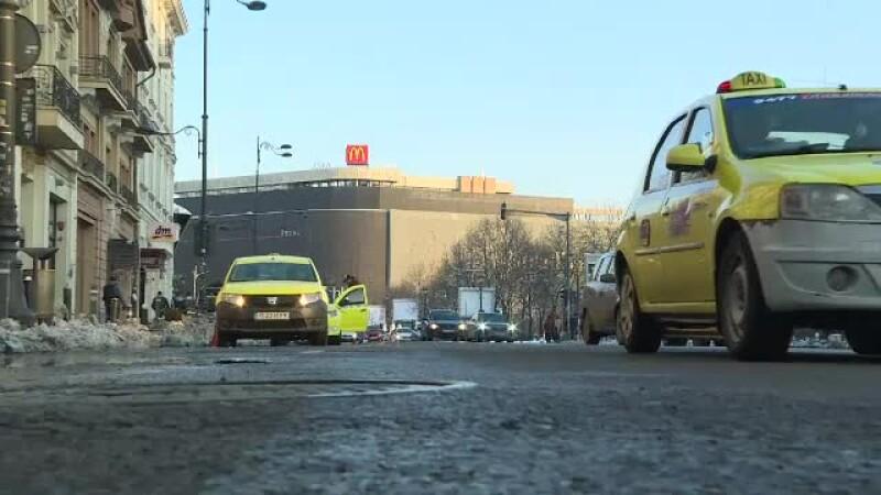 taxi la Piata Unirii