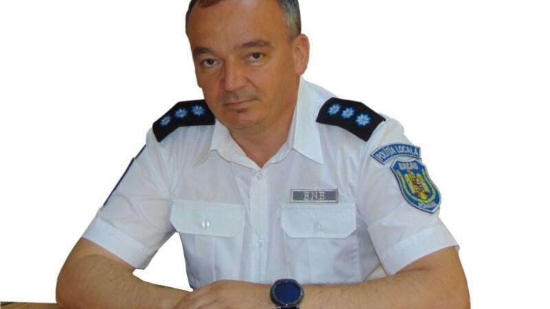 Şeful Poliţiei Locale din municipiul Bacău, Constantin Florin Ene