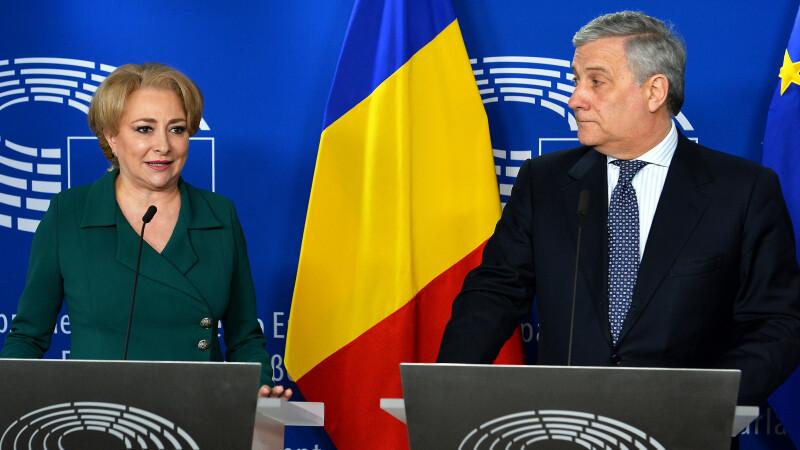 Viorica Dancila, Antonio Tajani