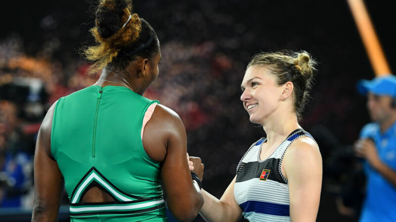 SIMONA HALEP - SERENA WILLIAMS. Simona a fost eliminată în optimi la Australian Open