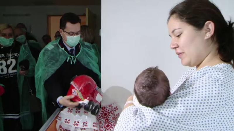 Numărul copiilor născuți în România de Anul Nou reprezintă 0,12% din totalul în lume